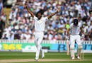 Rahat Ali appeals after trapping Alastair Cook in front, England v Pakistan, 3rd Test, Edgbaston, 1st day, August 3, 2016