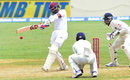 Shane Dowrich pulls a delivery from R Ashwin, West Indies v India, 2nd Test, Kingston, 5th day, August 3, 2016