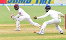 Shane Dowrich tucks one past KL Rahul at short leg, West Indies v India, 2nd Test, Kingston, 5th day, August 3, 2016