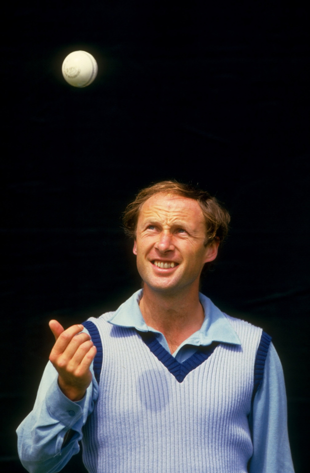 Vic Marks starred with six wickets in the final innings in Somerset's three-run win against Notts in 1984