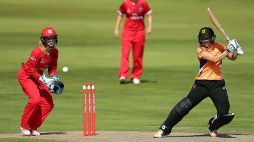 Sara McGlashan's fifty proved to be a matchwinning innings