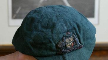 Victor Trumper's cap at auction