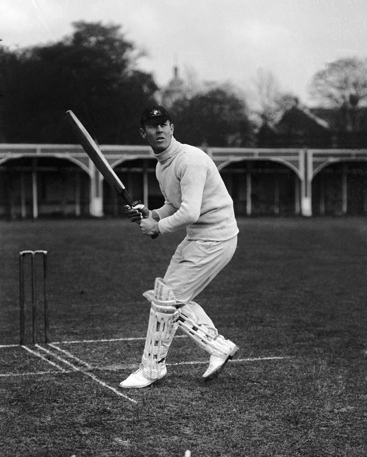 Another view of Victor: Trumper steps out in another image from the 1905 photo session