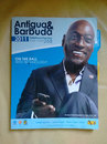 Viv Richards on the cover of the Antigua phone directory, St John's, July 22, 2016