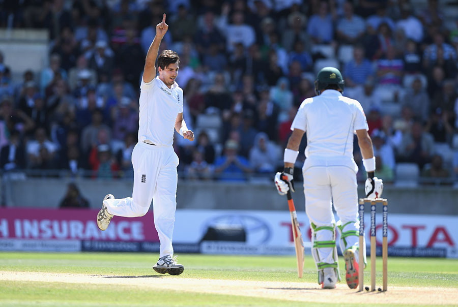 Steven Finn, a reverse-swing natural, made it count against Pakistan at Edgbaston in 2016