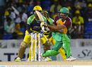 Sohail Tanvir sweeps on his way to 42 off 37, CPL 2016, final, St Kitts, August 7, 2016