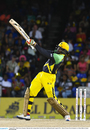 Chris Gayle launches one into the stands, CPL 2016, final, St Kitts, August 7, 2016