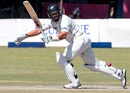Ross Taylor fends one off to the on side, Zimbabwe v New Zealand, 2nd Test, Bulawayo, 4th day, August 9, 2016