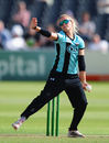 Alex Hartley in action for Surrey Stars, Surrey Starsw v Lancashire Thunder, Women's Super League, August 9, 2016