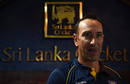 Nic Pothas, Sri Lanka's new fielding coach, speaks at a press meeting, Colombo, August 10, 2016