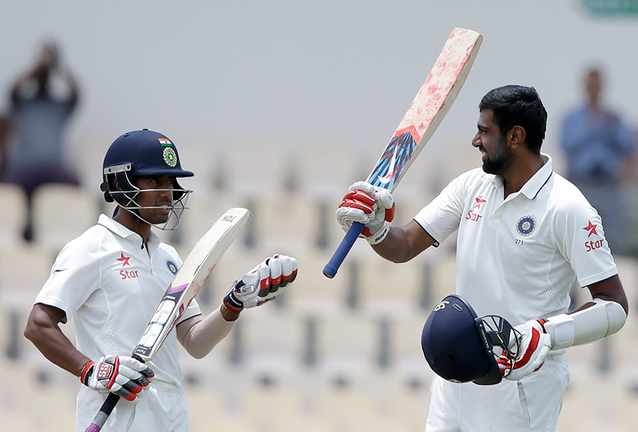 Saha enjoys a good rapport with R Ashwin. The two partnered for a double-century stand in St Lucia three years ago
