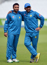 Sami Aslam gets an arm around the shoulder from Sarfraz Ahmed, The Oval, August 10, 2016