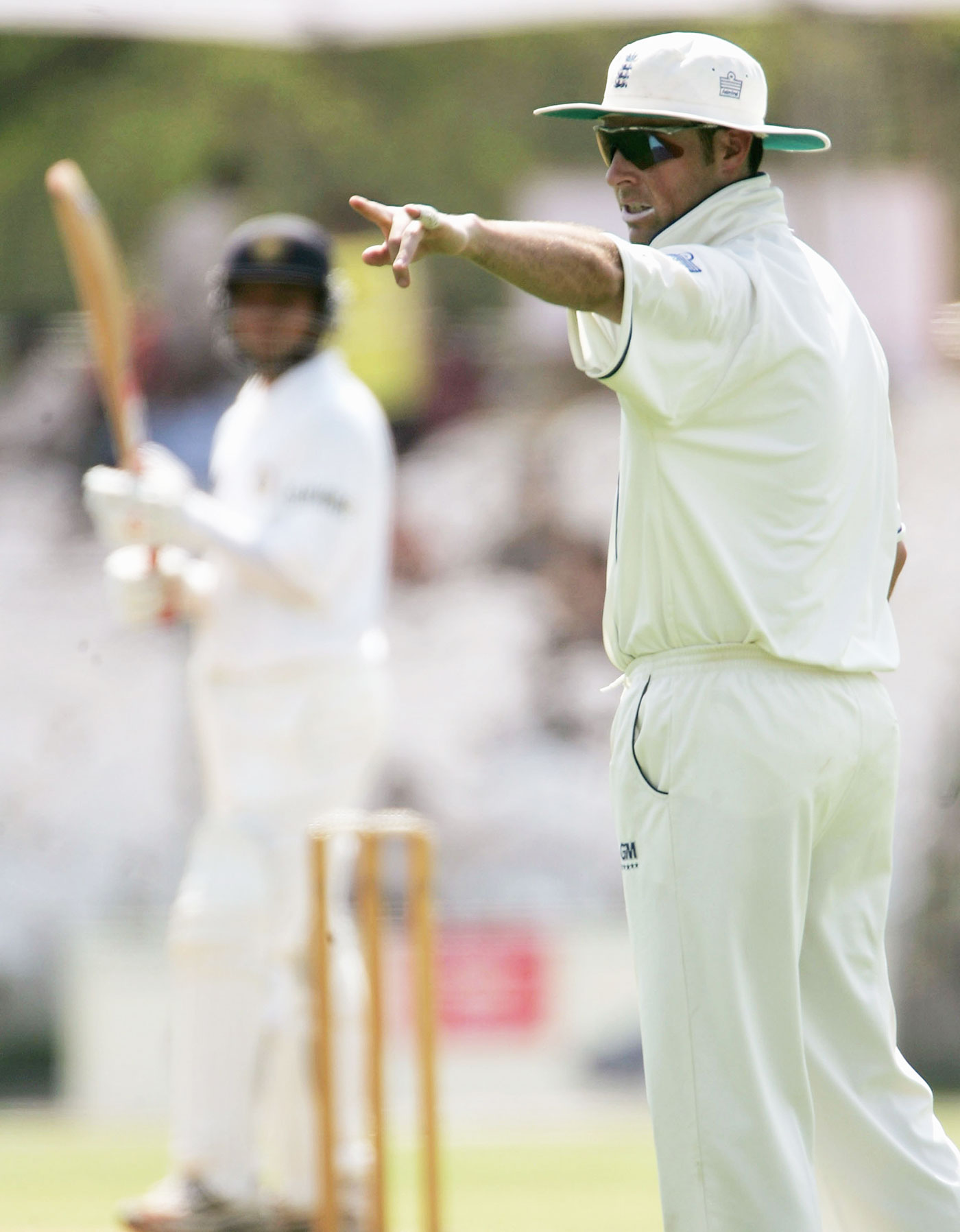 Captaining England in Vadodara, 2006: