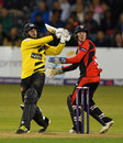 Jack Taylor smashed 80 from 41 balls but it wan't enough, Gloucestershire v Durham, NatWest T20 Blast quarter-final, Bristol, August 10, 2016