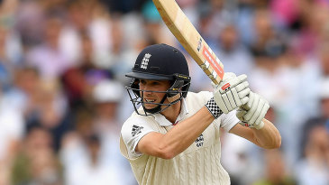 Chris Woakes' cover-drive was in full flow
