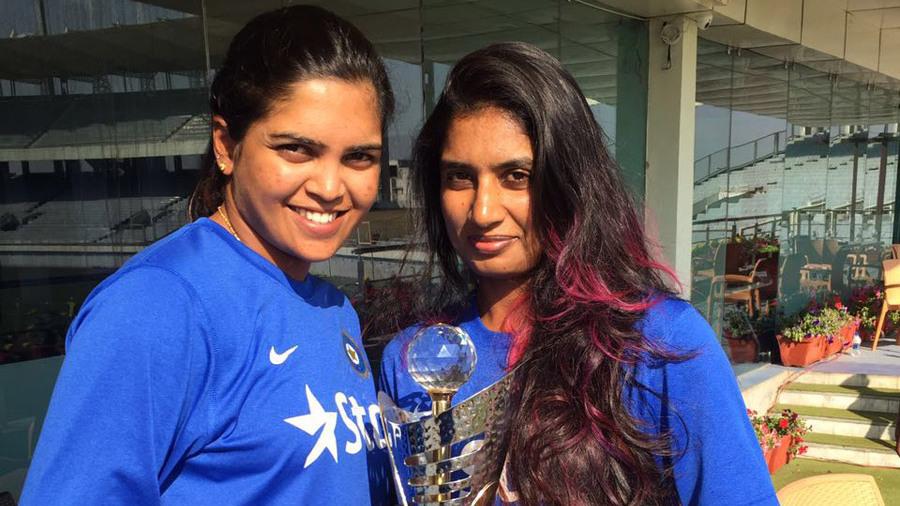 Two beautiful sports girls