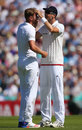 One in the eye: Stuart Broad gets a check-up after a fly interrupted his run-up, England v Pakistan, 4th Test, The Oval, 2nd day, August 12, 2016