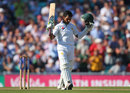 Asad Shafiq celebrates his ninth Test hundred, England v Pakistan, 4th Test, The Oval, 2nd day, August 12, 2016