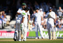 Asad Shafiq and Younis Khan shared a 150-run stand, England v Pakistan, 4th Test, The Oval, 2nd day, August 12, 2016