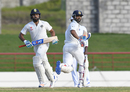 Ajinkya Rahane and Rohit Sharma shared an unbeaten 85-run stand by stumps on day four, West Indies v India, 3rd Test, Gros Islet, 4th day, August 12, 2016