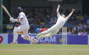 Mitchell Marsh drops a tough chance at gully, Sri Lanka v Australia, 3rd Test, SSC, 1st day, August 13, 2016