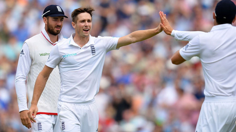 Chris Woakes picked up yet another wicket