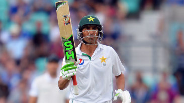 Younis Khan progressed past 150