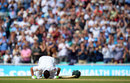 Younis Khan bows down after reaching 200, England v Pakistan, 4th Test, The Oval, 3rd day, August 13, 2016