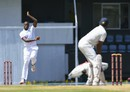 Miguel Cummins returned figures of 6 for 48 on the fifth morning, West Indies v India, 3rd Test, Gros Islet, 5th day, August 13, 2016