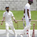 Virat Kohli is ecstatic after the wicket of Roston Chase, West Indies v India, 3rd Test, Gros Islet, 5th day, August 13, 2016