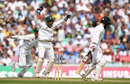 Sarfraz Ahmed celebrates the catch to dismiss Moeen Ali, England v Pakistan, 4th Test, The Oval, 4th day, August 14, 2016
