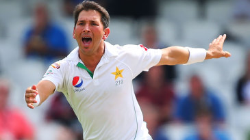 Yasir Shah struck just before lunch