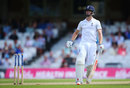 Chris Woakes was run out for 4 by Wahab Riaz, England v Pakistan, 4th Test, The Oval, 4th day, August 14, 2016