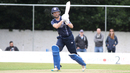 Craig Wallace flicks to the on side, Scotland v UAE, ICC WCL Championship, Edinburgh, August 14, 2016
