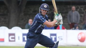 Calum MacLeod cuts behind point