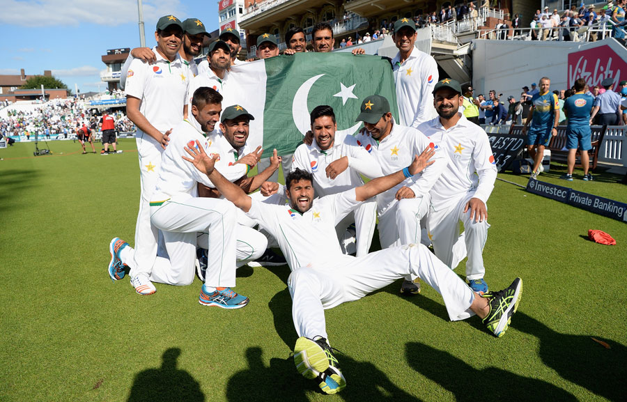 Pakistan is the Number 1 ranked team in the ICC Test rankings