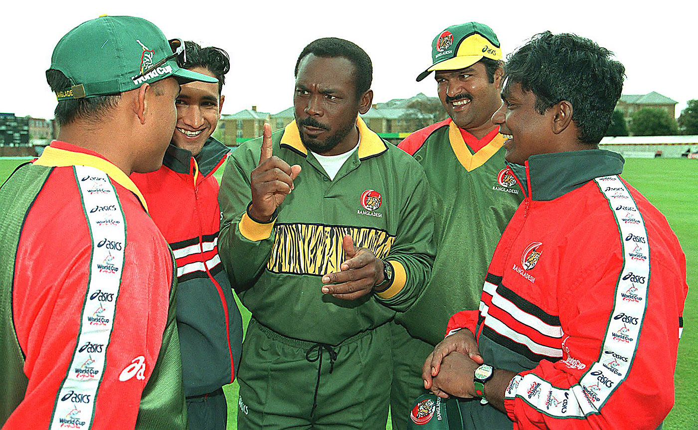 Gordon Greenidge, who coached Bangladesh towards qualification for the 1999 World Cup, was unexpectedly fired in the middle of that tournament