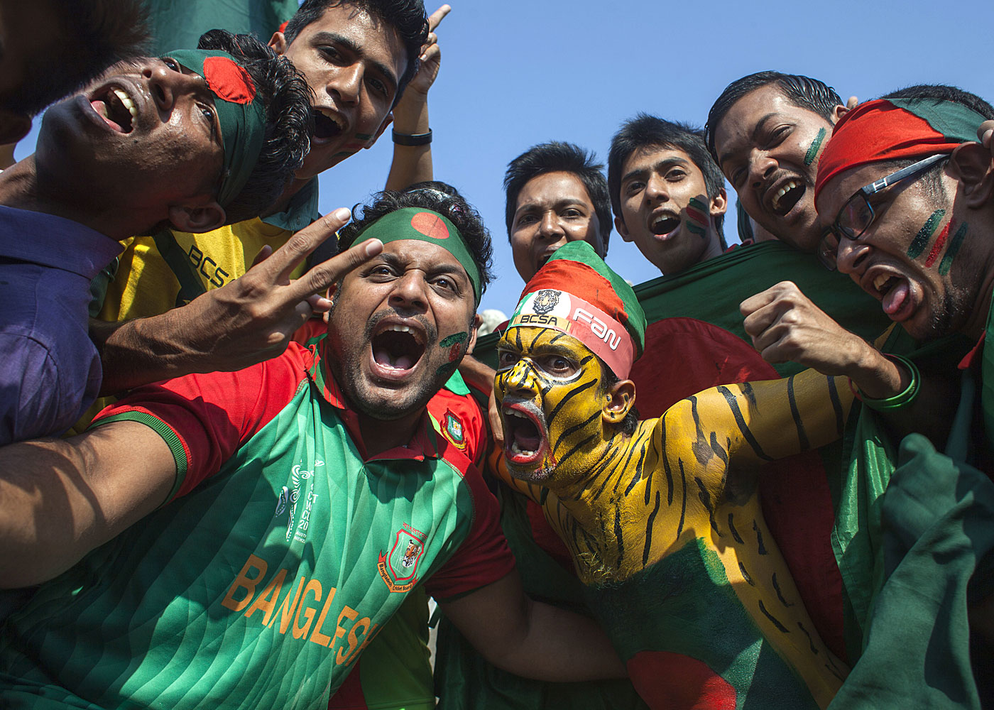 Fierce like us: Bangladesh's cricket fans stood by their team through the worst of times, and when it's time to celebrate, they don't hold back