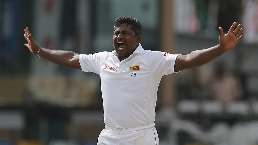 Rangana Herath ended with figures of 6 for 81