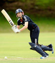 Beth Morgan batting for England against Western Australia