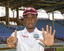 Miguel Cummins took six wickets in the second innings, West Indies v India, 3rd Test, Gros Islet, 5th day, August 13, 2016