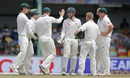 Peter Nevill is mobbed by his team-mates,  Sri Lanka v Australia, 3rd Test, SSC, 4th day, August 16, 2016
