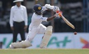 Kaushal Silva drives through cover, Sri Lanka v Australia, 3rd Test, SSC, 4th day, August 16, 2016