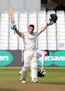 Steven Mullaney hit a defiant hundred, Nottinghamshire v Hampshire, County Championship, Division One, Trent Bridge, 4th day, August 16, 2016