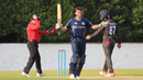Calum MacLeod scores his third ODI century, Scotland v UAE, ICC WCL Championship, Edinburgh, August 16, 2016