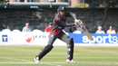 Mohammad Shahzad guides a run behind point, Scotland v UAE, ICC WCL Championship, Edinburgh, August 16, 2016