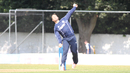 Con de Lange took 2 for 42, Scotland v UAE, ICC WCL Championship, Edinburgh, August 16, 2016