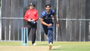 Safyaan Sharif took 3 for 25, Scotland v UAE, ICC WCL Championship, Edinburgh, August 16, 2016