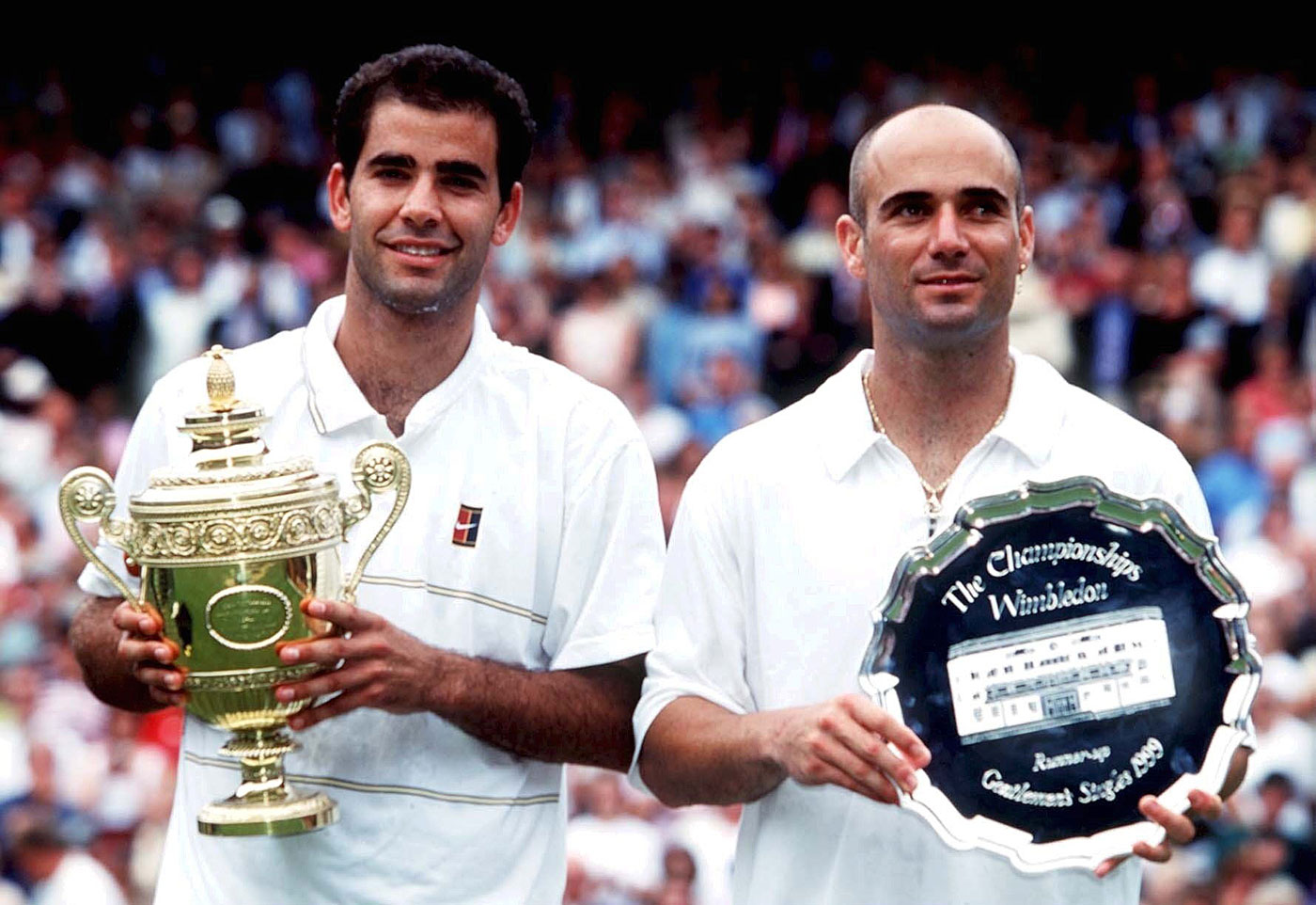 Three sets of vintage Sampras in the 1999 Wimbledon final. Would you call that boring?
