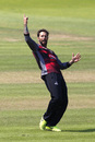 Peter Trego in celebratory mood at Taunton, Somerset v Worcestershire, Royal London One-Day Cup quarter-finals, Taunton, August 17, 2016